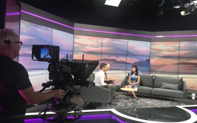Mandarin Language Assistant Yanwei's debut on TV in New Zealand